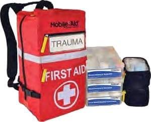 Mobile aid trauma first aid kit