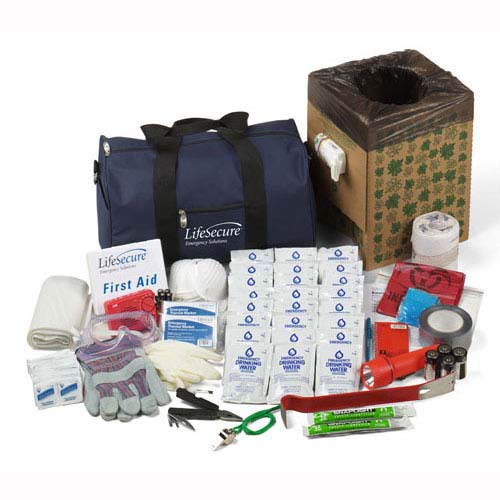 10-Person  LifeSecure Office Evacuation and Shelter-In-Place Emergency Kit  (10100) cd71cefa0cdc4
