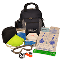fire evacuation emergency kit