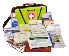 green color emergency kit