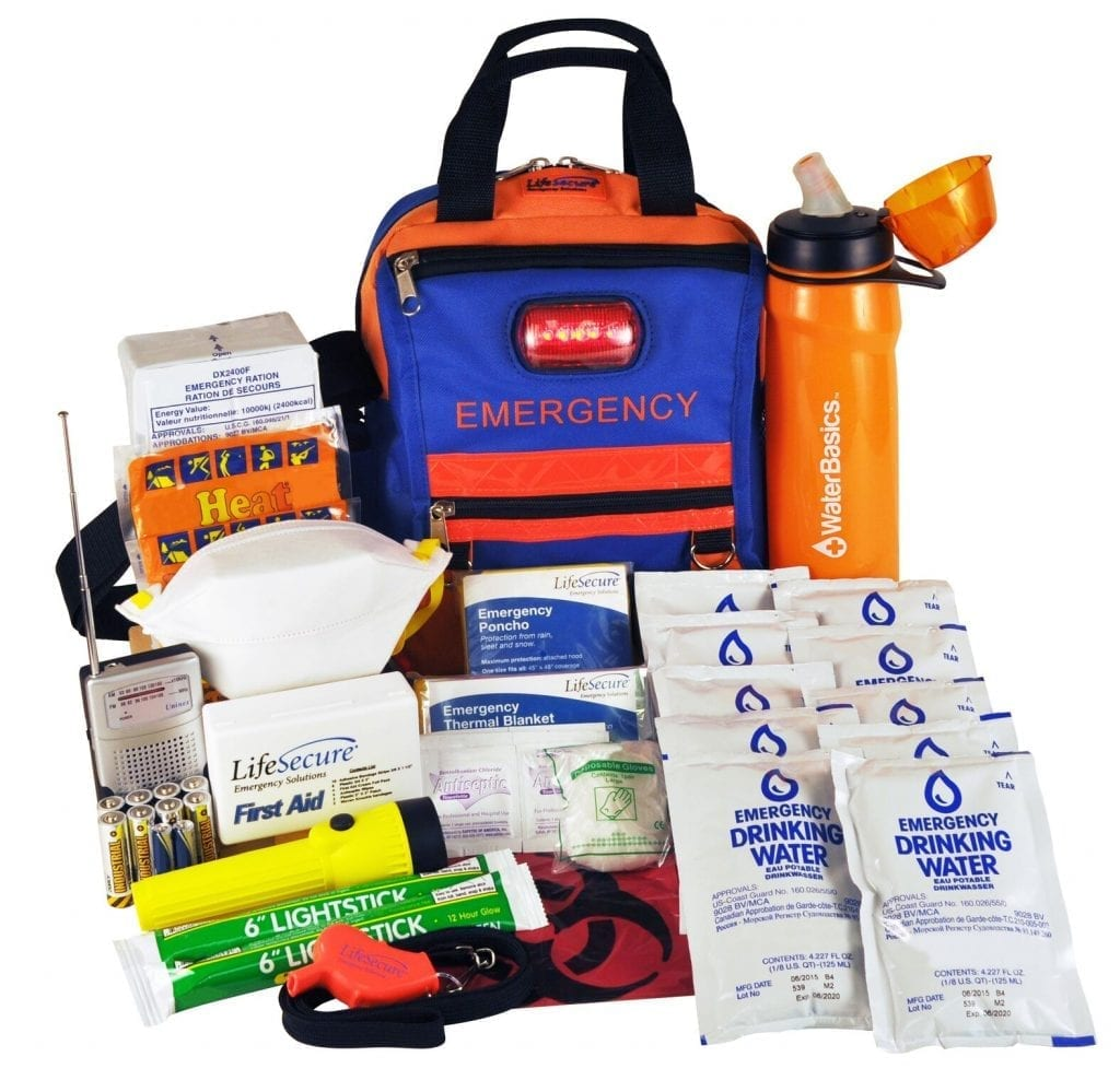FlashEvac Xtra Compact 3-DAY Disaster Survival Kit (81830)