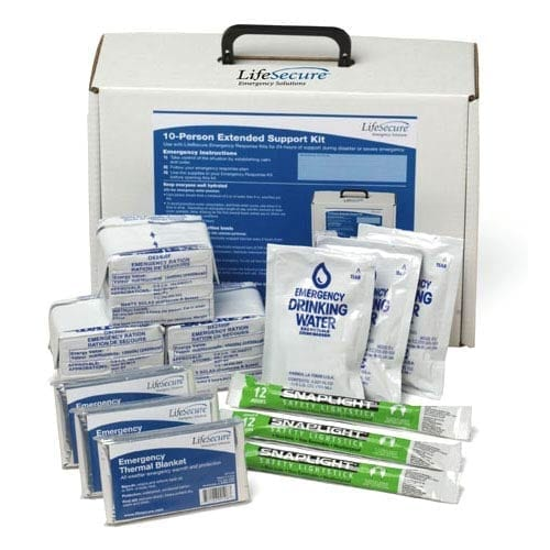 LifeSecure Compact Fold-A-Potty Portable Emergency Toilet Kit