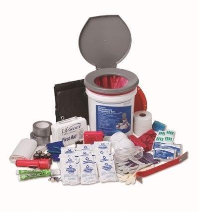 Lifesecure emergency kit