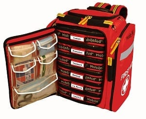 MobileAid Emergency Kit open