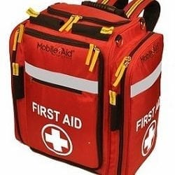 First Aid Backpack with straps