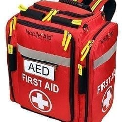 MobileAid AED and First Aid Supplies Backpack