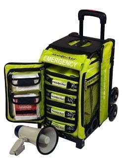 MobileAid EASY-ROLL Emergency Incident Response Station [4-Person Team] (31596)