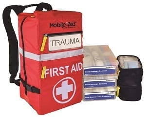 Trauma first kid kits