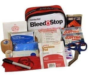 BleedSTOP IMMEDIATE RESPONSE 100 Bleeding Control & Gunshot Wound Trauma First Aid Kit (32712)