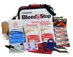 Emergency first aid kit Bleedstop