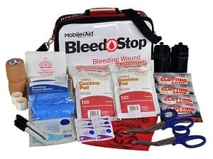 Emergency first aid kit bleedstop