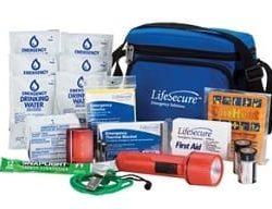 LifeSecure Ride-Along AUTO Emergency Kit