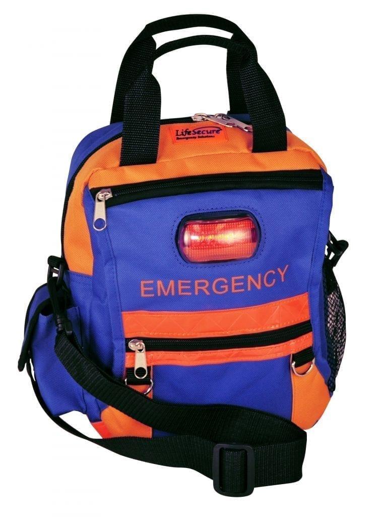 SECUR-Evac HI-Visibility & Safety ALL-HAZARDS Emergency Sling & Shoulder Bag [Load-Your-Own]