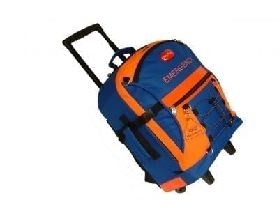 [Load-Your-Own] SECUR-Evac Hi-Visibility/Hi-Safety Easy-Roll ALL-HAZARDS Emergency Backpack - XL-Capacity