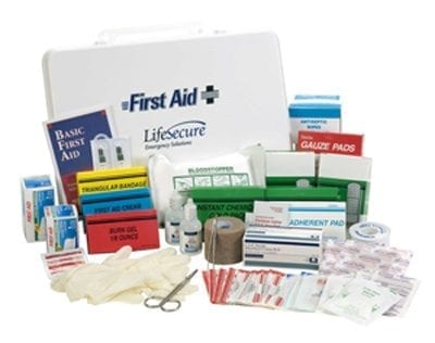 Lifesecure Extra Large Emergency First Aid Kit