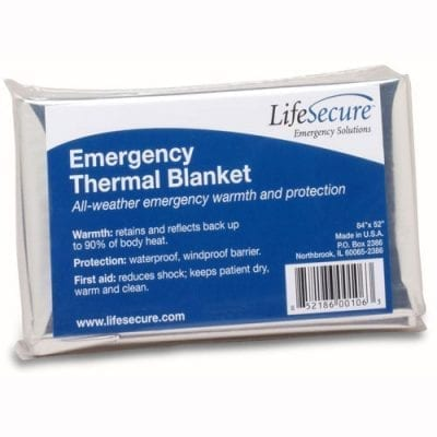 Emergency Thermal Blankets (20 Blankets)