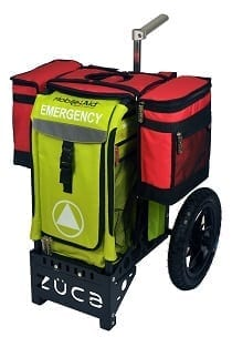 Medical Saddle Bags on AT Emergency Cart