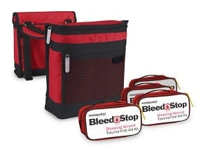 Saddle Bags with Bleed Stop