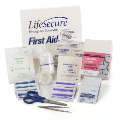 LifeSecure Small Emergency First Aid Kit