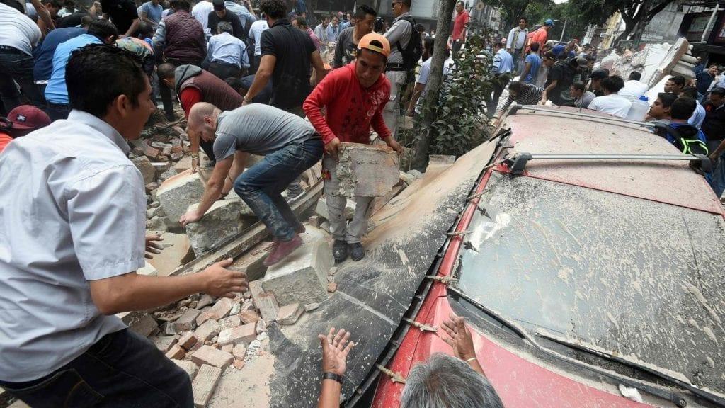 Powerful 7.1 Earthquake Hits Mexico on Anniversary of Devastating 1985 Quake