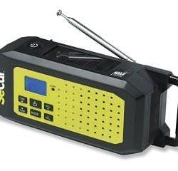 SECUR Dynamo/Solar Emergency NOAA Radio and Flashlight