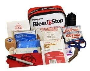 BleedSTOP IMMEDIATE RESPONSE 200 Bleeding Control & Gunshot Wound Trauma First Aid Kit (32714)
