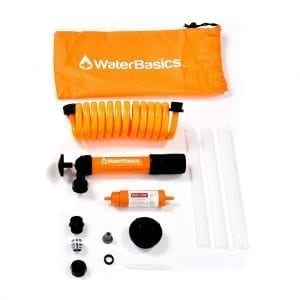 WaterBasics Disaster & Emergency Drinking Water Pump and Filter Kit