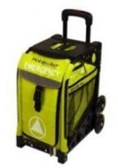 MobileAid EASY-Roll Emergency Cart [Load-Your-Own] - Safety Green
