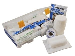 MobileAid Quick-Response Replacement Module D: Large Wound Dressing & Bandaging