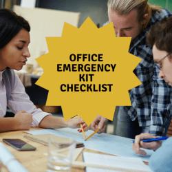 Office Emergency Kit Checklist