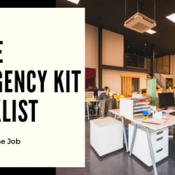 Office Emergency Kit Checklist
