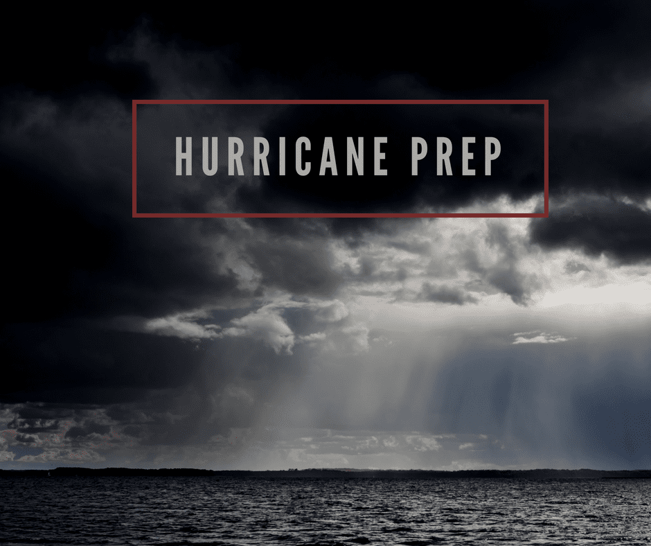 Hurricane Kit Checklist 2018