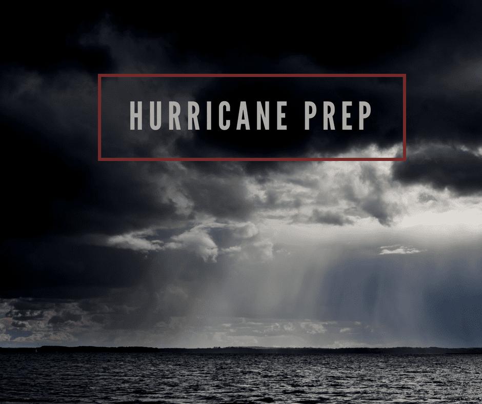 Hurricane Kit Checklist 2018