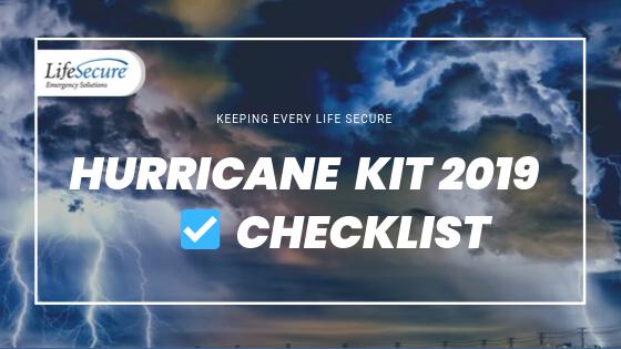 Hurricane Checklist Blog 2019
