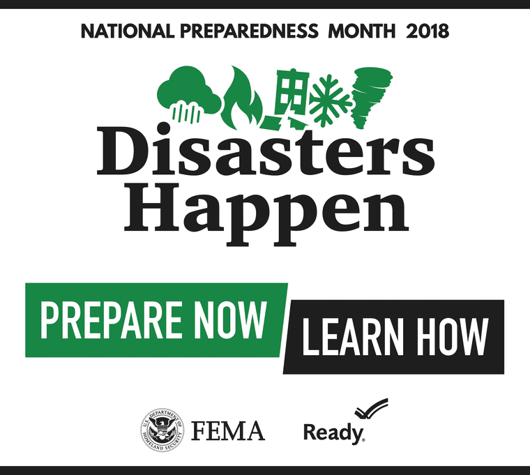 September: National Preparedness Month