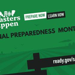 September: National Preparedness Month