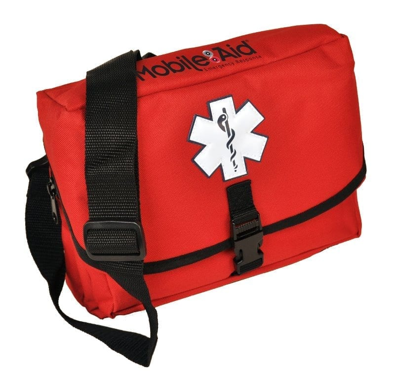 MobileAid SchoolGuard Grab-N-Go Trauma First Aid Field Bag [Empty] (37110)