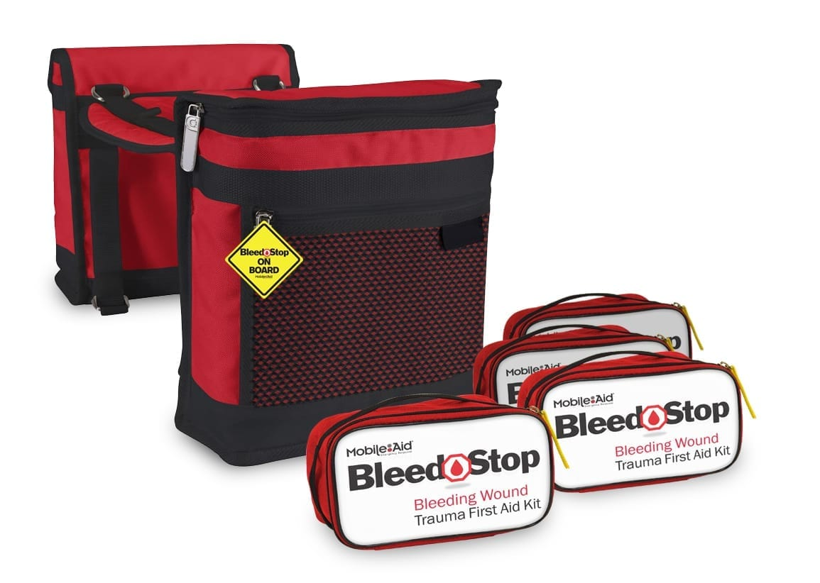 Saddle Bags w Bleed Stop